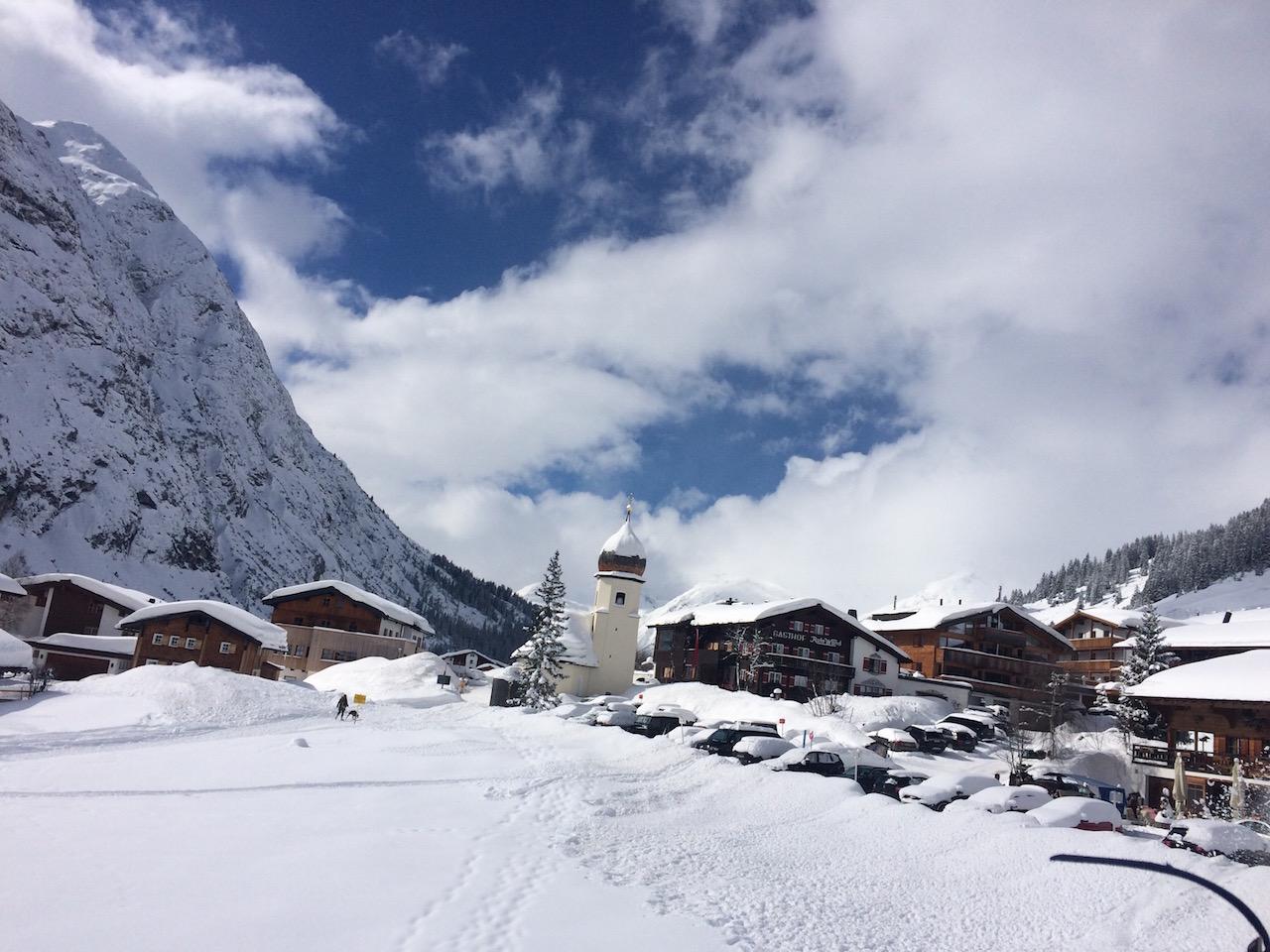 Zug am Arlberg
